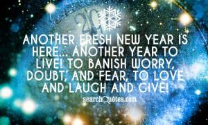 new year 2014 quote